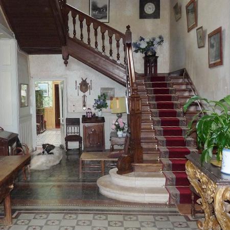 Chambres hôtes - Vic-Fezensac - Gers 32 - cage escalier
