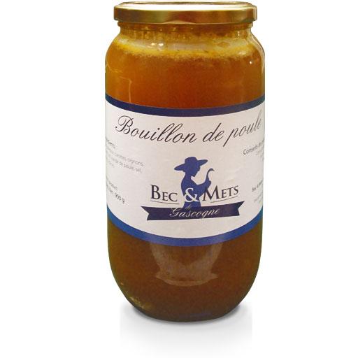 Foie gras Gers, bouillon de poule