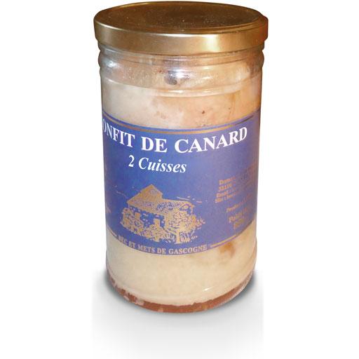 Foie gras Gers, confit de canard