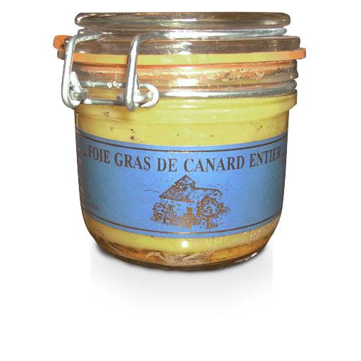 Foie gras Gers, Foie gras de canard entier